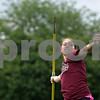 Rob Winner – rwinner@shawmedia.com<br /> <br /> DeKalb graduate Stephanie Milroy practices throwing the javelin near the track at Huntley Middle School in DeKalb, Ill., Wednesday, June 12, 2013. Milroy will continue her track career at Southern Illinois University.