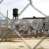 Rob Winner – rwinner@shawmedia.com<br /> <br /> The Wurlitzer Company building located on the 1600 block of Pleasant Street in DeKalb that collapsed in May of 2012 is seen on Monday, June 17, 2013.<br /> <br /> DeKalb, Ill.