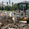 Rob Winner – rwinner@shawmedia.com<br /> <br /> Heavy equipment is seen as construction continues on Bethany Road near North First Street in DeKalb, Ill., Tuesday, June 18, 2013.