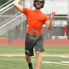 Rob Winner – rwinner@shawmedia.com<br /> <br /> DeKalb quarterback Jack Sauter passes during a 7-on-7 game against Belvidere North at DeKalb High School on Monday, June 24, 2013.