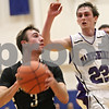 Rob Winner – rwinner@shawmedia.com<br /> <br /> Sycamore's David Compher looks t the basket before a shot in the fourth quarter during the Class 3A Burlington Central Regional final in Burlington, Ill., Friday, Mar. 1, 2013. Sycamore defeated Hampshire, 51-44.