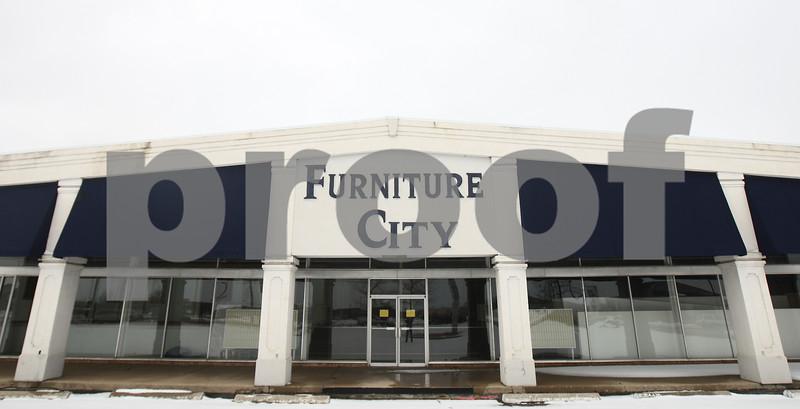 Kyle Bursaw – kbursaw@shawmedia.com<br /> <br /> The Furniture City building on the 2200 block of Sycamore Road in DeKalb, Ill. on Thursday, Feb. 28, 2013.
