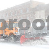 Kyle Bursaw – kbursaw@shawmedia.com<br /> <br /> A truck plows the snow on State Street in Sycamore, Ill. on Tuesday, Feb. 26, 2013.