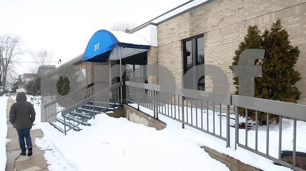 Kyle Bursaw – kbursaw@shawmedia.com<br /> <br /> The DeKalb Clinic building on Franklin Street in DeKalb, Ill. on Thursday, Feb. 28, 2013.