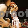 Rob Winner – rwinner@shawmedia.com<br /> <br /> Northern Illinois guard Amanda Corral puts up a shot in the first half at the Convocation Center in DeKalb, Ill., Thursday, Feb. 28, 2013.