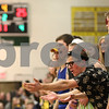 Kyle Bursaw – kbursaw@shawmedia.com<br /> <br /> Curtis Swartzendruber (leaning with glasses) reacts to the referee's call during Sycamore's game against DeKalb at Sycamore High School on Friday, Feb. 22, 2013.