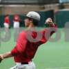 Kyle Bursaw – kbursaw@shawmedia.com<br /> <br /> Northern Illinois University baseball player Brian Sisler throws to a teammate during practice at the DeKalb Recreation Center on Wednesday, March 6, 2013.