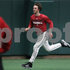Kyle Bursaw – kbursaw@shawmedia.com<br /> <br /> Northern Illinois University baseball player Brian Sisler runs during practice at the DeKalb Recreation Center on Wednesday, March 6, 2013.