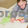 Kyle Bursaw – kbursaw@shawmedia.com<br /> <br /> Spring Bellows works on coloring in some Dr. Seuss characters during an individual work time in one of Opportunity House's classrooms in Sycamore, Ill. on Thursday, March 7, 2013.