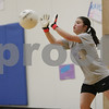 Rob Winner – rwinner@shawmedia.com<br /> <br /> Goalkeeper Katy Yeager blocks a ball during a drill at soccer practice at Hinckley-Big Rock High School on Wednesday, March 6, 2013.
