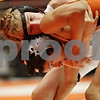 Rob Winner – rwinner@shawmedia.com<br /> <br /> Luke Favia top, of Glen Ellyn Hadley, competes against Jose Flores, of DeKalb Clinton Rosette, in a 112-pound match during the Illinois Elementary School Association Boys State Wrestling Tournament at the Convocation Center in DeKalb, Ill., Saturday, March 9, 2013.