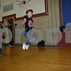 Maci Bushbacher keeps rhythm as she jumps while Dylan Lowry swings the rope at Kingston Elementary School Friday. The students participated in the school's annual Jump Rope for Heart event. (Stephanie Hickman - shickman@shawmedia.com)
