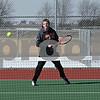Rob Winner – rwinner@shawmedia.com<br /> <br /> Nick Sablich, a senior, participates in the DeKalb's tennis team's first outdoor practice at DeKalb High School on Thursday, March 21, 2013.