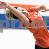 Erik Anderson - For the Daily Chronicle<br /> Genoa-Kingston's Danielle Neisendorf practices on the high jump at Genoa-Kingston High School in Genoa on Monday, March 18, 2013.