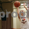Rob Winner – rwinner@shawmedia.com<br /> <br /> DeKalb's Maddy Johnson practices her shot at DeKalb High School on Monday, March 25, 2013.
