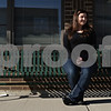 "Rob Winner – rwinner@shawmedia.com<br /> <br /> Deanna Frances, of Waterman, recently had her first novel, ""Taking Chances,"" published. Frances seen here in front of Flewellin Memorial Library in Shabbona, Ill., wrote much of the novel after school at the library.<br /> <br /> Thursday, March 21, 2013"