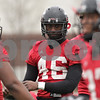Rob Winner – rwinner@shawmedia.com<br /> <br /> Northern Illinois defensive end George Rainey (46) during practice at Huskie Stadium in DeKalb, Ill., Wednesday, March 27, 2013.