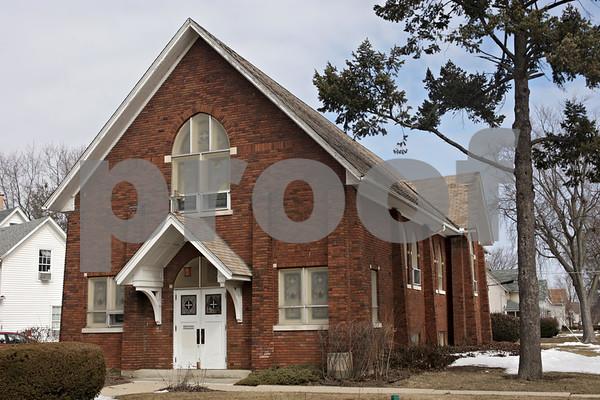 Rob Winner – rwinner@shawmedia.com<br /> <br /> The Church in DeKalb's new location on the 400 block of Fisk Street as seen on Tuesday, March 26, 2013.