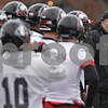 Rob Winner – rwinner@shawmedia.com<br /> <br /> Northern Illinois football coach Rod Carey (right) during practice at Huskie Stadium in DeKalb, Ill., Wednesday, March 27, 2013.