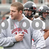 Rob Winner – rwinner@shawmedia.com<br /> <br /> Northern Illinois offensive line coach Joe Tripodi instructs his players during practice at Huskie Stadium in DeKalb, Ill., Wednesday, March 27, 2013.