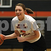 Rob Winner – rwinner@shawmedia.com<br /> <br /> DeKalb's Maddy Johnson practices dribbling at DeKalb High School on Monday, March 25, 2013.