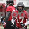 Rob Winner – rwinner@shawmedia.com<br /> <br /> Northern Illinois cornerback Marckie Hayes during practice at Huskie Stadium in DeKalb, Ill., Wednesday, March 27, 2013.
