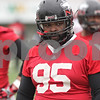 Rob Winner – rwinner@shawmedia.com<br /> <br /> Northern Illinois defensive tackle Ken Bishop during practice at Huskie Stadium in DeKalb, Ill., Wednesday, March 27, 2013.