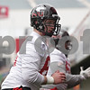 Rob Winner – rwinner@shawmedia.com<br /> <br /> Northern Illinois offensive lineman Matt Battaglia participates in a drill during practice at Huskie Stadium in DeKalb, Ill., Wednesday, March 27, 2013.