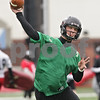 Rob Winner – rwinner@shawmedia.com<br /> <br /> Northern Illinois quarterback Matt Williams makes a pass during practice at Huskie Stadium in DeKalb, Ill., Wednesday, March 27, 2013.