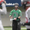 Rob Winner – rwinner@shawmedia.com<br /> <br /> Northern Illinois quarterback Jordan Lynch during practice at Huskie Stadium in DeKalb, Ill., Wednesday, March 27, 2013.