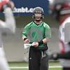 Rob Winner – rwinner@shawmedia.com<br /> <br /> Northern Illinois quarterback Jordan Lynch during practice at Huskie Stadium in DeKalb, Ill., Wednesday, March 27, 2013.