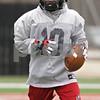 Rob Winner – rwinner@shawmedia.com<br /> <br /> Northern Illinois wide receiver Tommylee Lewis during practice at Huskie Stadium in DeKalb, Ill., Wednesday, March 27, 2013.
