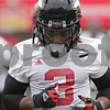 Rob Winner – rwinner@shawmedia.com<br /> <br /> Northern Illinois running back Akeem Daniels during practice at Huskie Stadium in DeKalb, Ill., Wednesday, March 27, 2013.