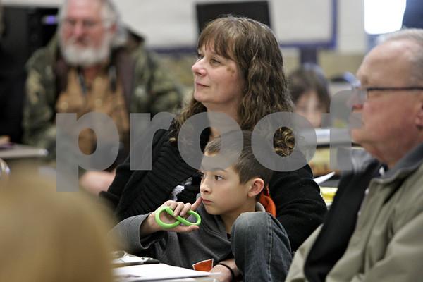 Grandparents Day at Shabbona Elementary School
