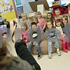 Rob Winner – rwinner@shawmedia.com<br /> <br /> Five sets of twins that attend kindergarten at Hinckley-Big Rock Elementary School pose for a yearbook photograph taken by Lori Eberly (left) on Wednesday, March 20, 2013, in Hinckley, Ill.