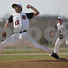 Rob Winner – rwinner@shawmedia.com<br /> <br /> Relief pitcher Vaughn Jones delivers a pitch in the top of the fourth inning in DeKalb, Ill., Monday, April 29, 2013.