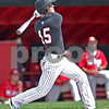 Monica Maschak - mmaschak@shawmedia.com<br /> Jamison Wells watches his foul ball in a game against Miami of Ohio at Ralph McKenzie Field on Saturday, April 27, 2013. The Huskies won 4-3.