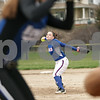 Rob Winner – rwinner@shawmedia.com<br /> <br /> Hinckley-Big Rock's Kenzie Coppes delivers a pitch to a Newark batter in the bottom of the first inning during a game in Newark, Ill., Tuesday, April 16, 2013.