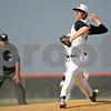 Rob Winner – rwinner@shawmedia.com<br /> <br /> DeKalb's John Crosby delivers a pitch in the top of the first inning in DeKalb, Ill., Monday, April 29, 2013.