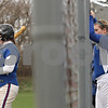 Rob Winner – rwinner@shawmedia.com<br /> <br /> Hinckley-Big Rock batter Erika Carlson (left) waits in the on-deck circle in the top of the third inning during a game in Newark, Ill., Tuesday, April 16, 2013, as her teammates watch from the dugout area.