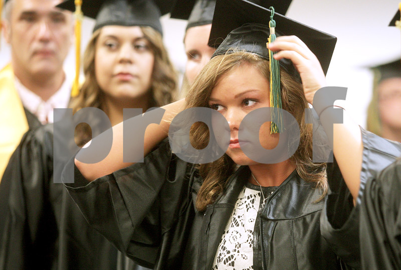 Monica Maschak - mmaschak@shawmedia.com<br /> during the 2:00 p.m. graduation at Kishwaukee College on Saturday, May 18, 2013.