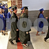 Monica Maschak - mmaschak@shawmedia.com<br /> About 150 seniors file into their commencement ceremony at the Genoa-Kingston Class of 2013 graduation on Wednesday, May 15, 2013.