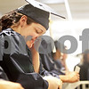 Monica Maschak - mmaschak@shawmedia.com<br /> Melissa Hudson waits for the 2:00 p.m. graduation at Kishwaukee College to begin on Saturday, May 18, 2013. Hudson earned her General Education Development certificate.