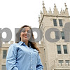 Rob Winner – rwinner@shawmedia.com<br /> <br /> Junior Sarah Stuebing, who studies biology at Northern Illinois University, is seen outside Altgeld Hall on the NIU campus in DeKalb, Ill., Thursday, April 25, 2013.