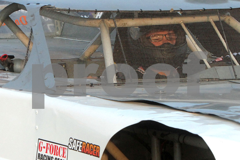 Gary L. Gates for Shaw Media<br /> <br /> Driver Cliff Garcia sits inside his super late model car while waiting to be waved onto the track during qualifications last Saturday at the Sycamore Speedway in Maple Park.<br /> <br /> Saturday, May 18, 2013<br /> Maple Park, Ill.