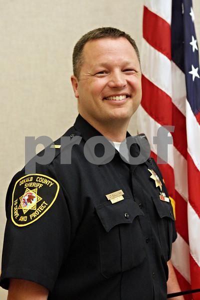 Rob Winner – rwinner@shawmedia.com<br /> <br /> Lt. Andy Sullivan photographed Wednesday, May 1, 2013, in DeKalb, Ill.
