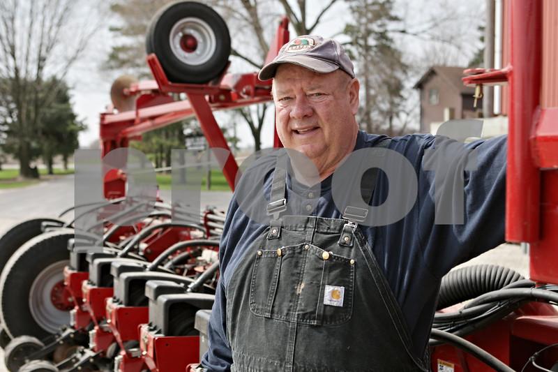 Rob Winner – rwinner@shawmedia.com<br /> <br /> John Ward is seen at his farm in Sycamore, Ill., Monday, April 29, 2013.