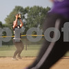 Rob Winner – rwinner@shawmedia.com<br /> <br /> Sycamore's Rebecca Schroeder catches a pop fly in the top of the third inning during the Class 3A Sycamore Regional quarterfinals.