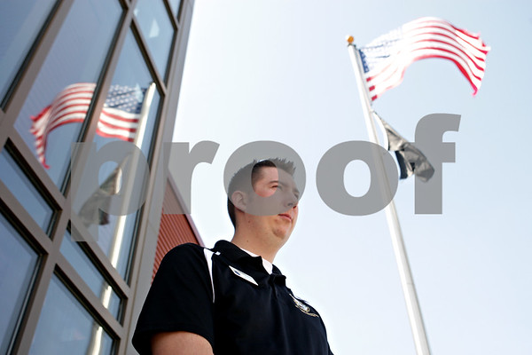 Rob Winner – rwinner@shawmedia.com<br /> <br /> Steve Kreitzer is a veterans service officer for the DeKalb County Veterans Assistance Commission. Kreitzer counsels veterans on benefits that they are entitled to. Kreitzer, who served in Iraq, was enlisted in the Army from March 2004 to June 2008 and also served one year in the reserves in 2010.<br /> <br /> ***Seen at the DCVAC in DeKalb, Ill., Wednesday, May 29, 2013***