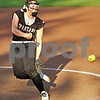 Monica Maschak - mmaschak@shawmedia.com<br /> Sycamore's Abby Foulk pitches in a rivalry game at Northern Illinois University on Tuesday, May 7, 2013. The Barbs beat the Spartans 4-3.